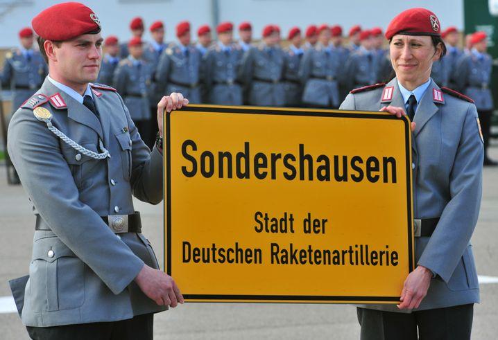 Bundeswehrsoldaten in Sondershausen