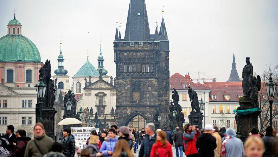 Tschechiens Hauptstadt Prag: Für Asylbewerber hohe Hürden errichtet