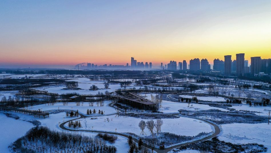 The skyline of Harbin, a city of over 10 million in northern China: The country is more conscious of its power today than it has been since the days of the great dynasties.