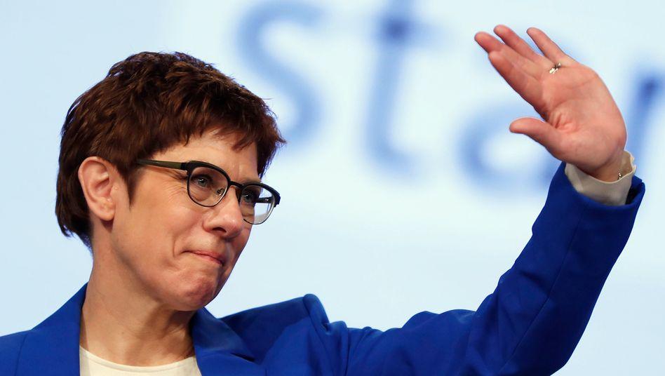CDU-Politikerin Kramp-Karrenbauer: endlich Abschied