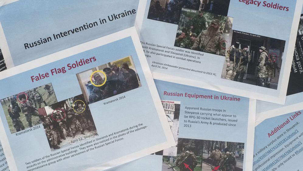 Ukraine-Krise: Russische Soldaten in Slowjansk?