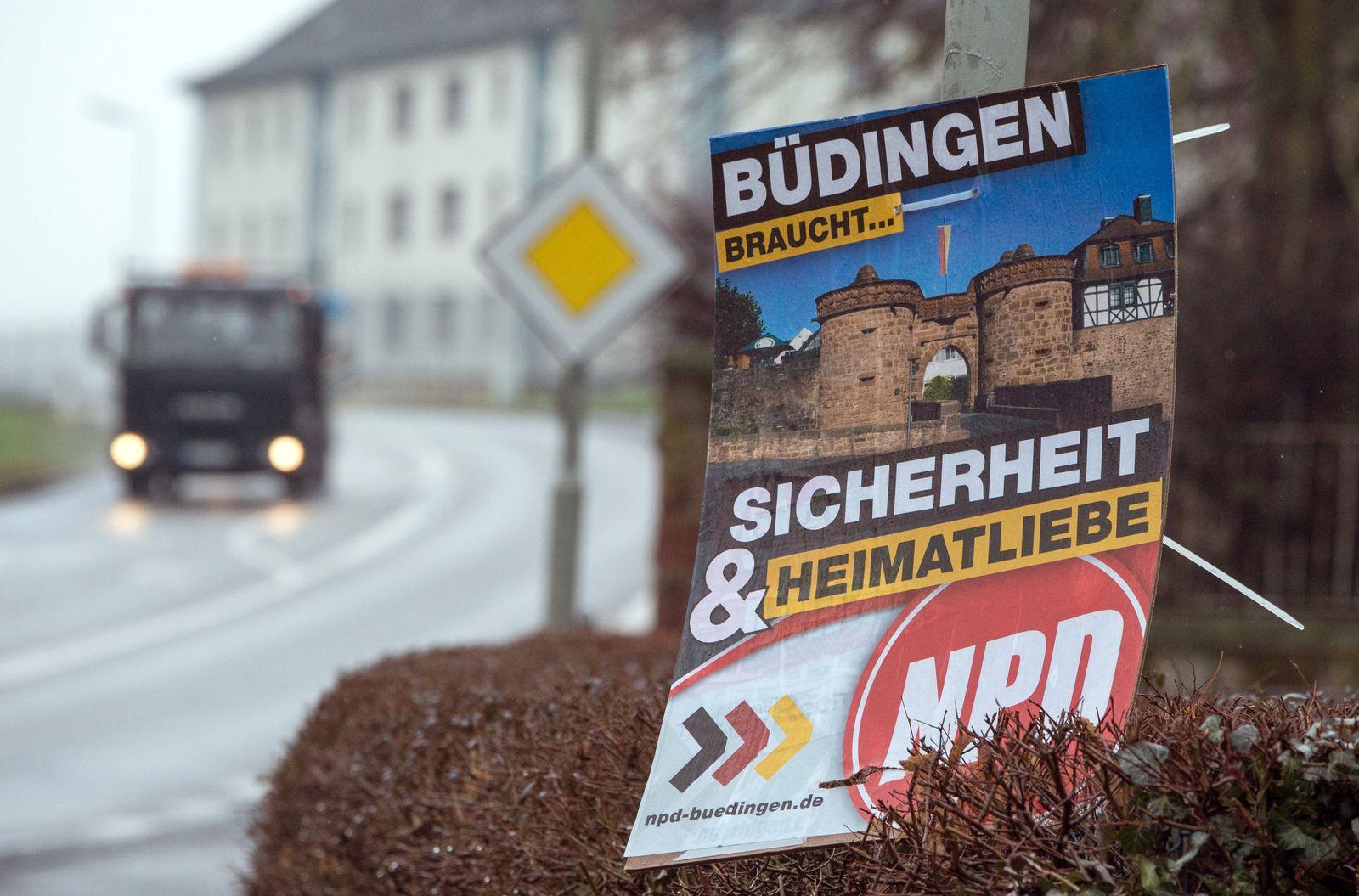 Büdingen / NPD