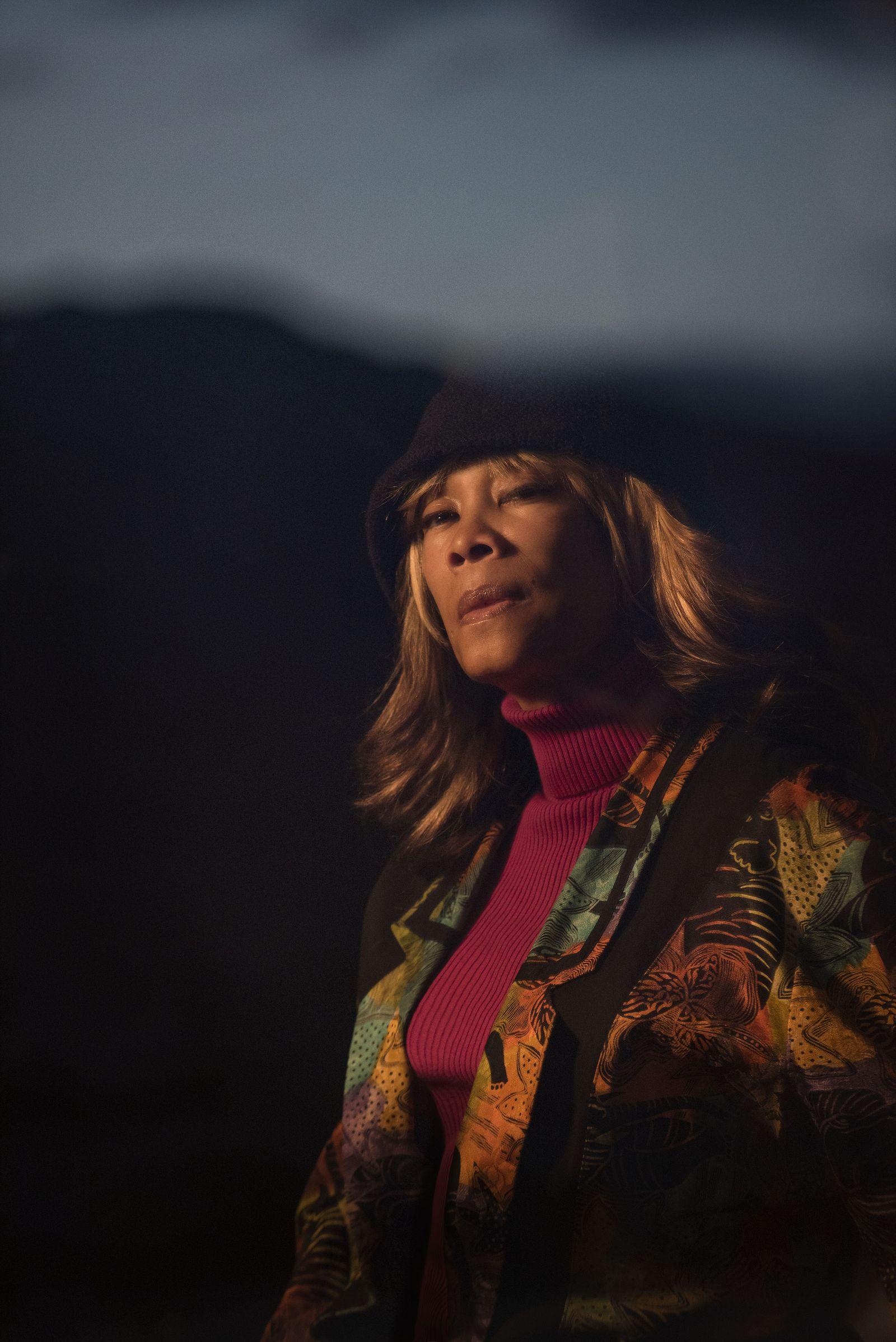 Lithofayne Pridgon: Jimi Hendrix's original 'foxy lady'.