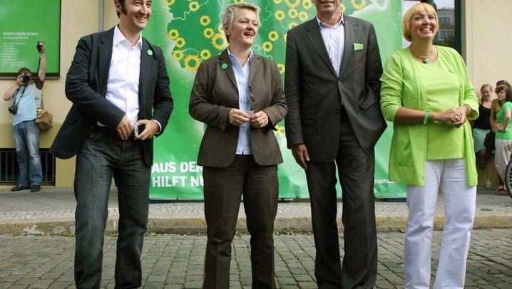 Grüne im Höhenflug: Machtbewusste Ex-Rebellen