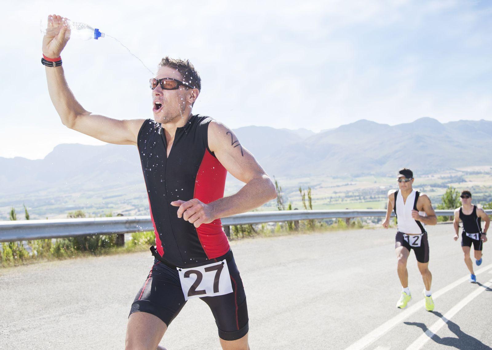 EINMALIGE VERWENDUNG Hitze / Sport