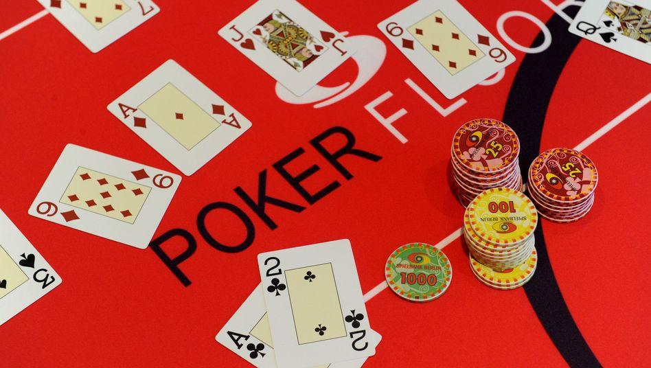 Poker-Tisch in Berlin (Archiv)