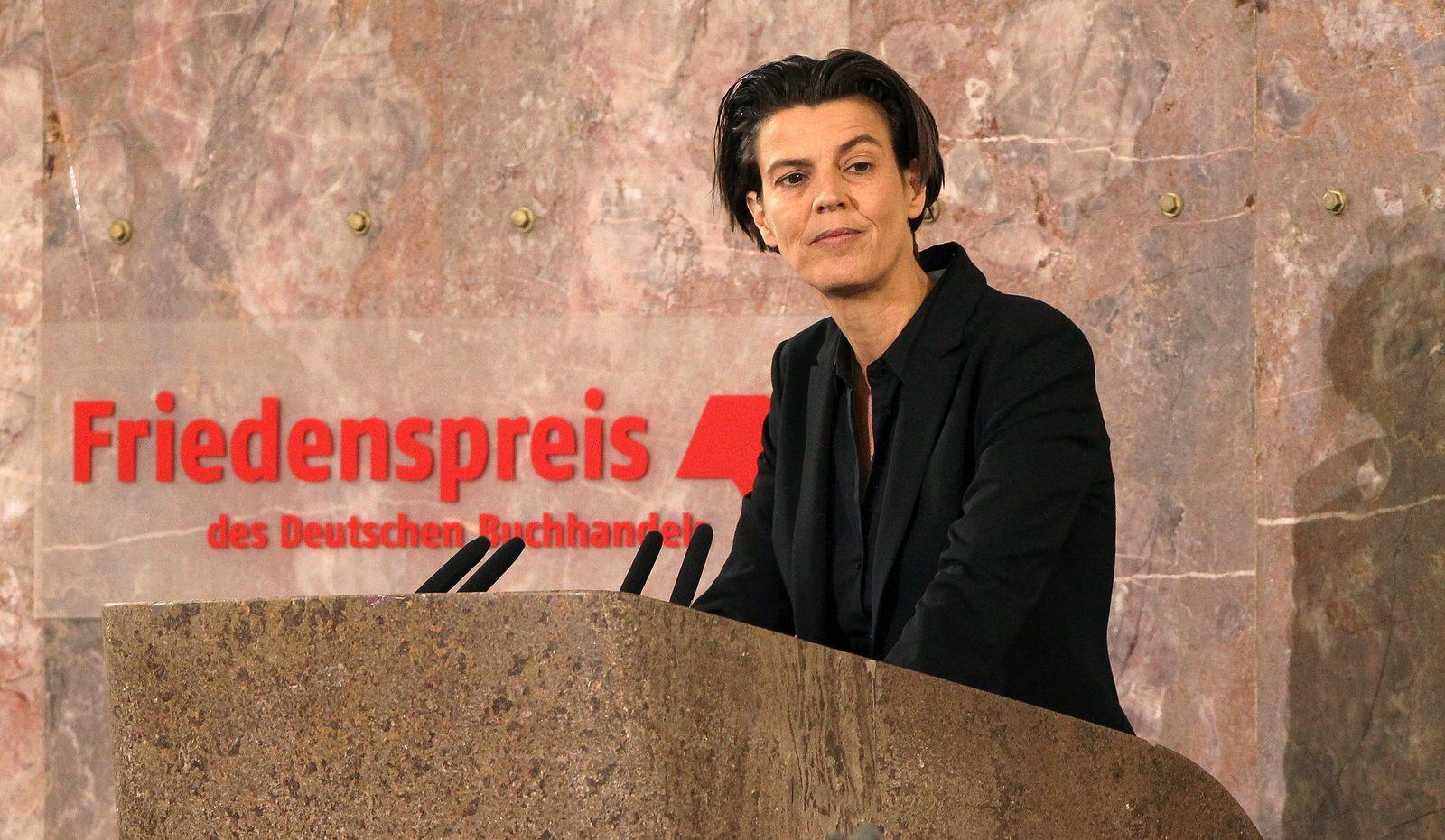 Carolin Emcke / Friedenspreis