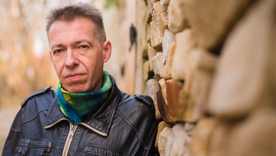 Andreas Lösche im oberfränkischen Unterhaid
