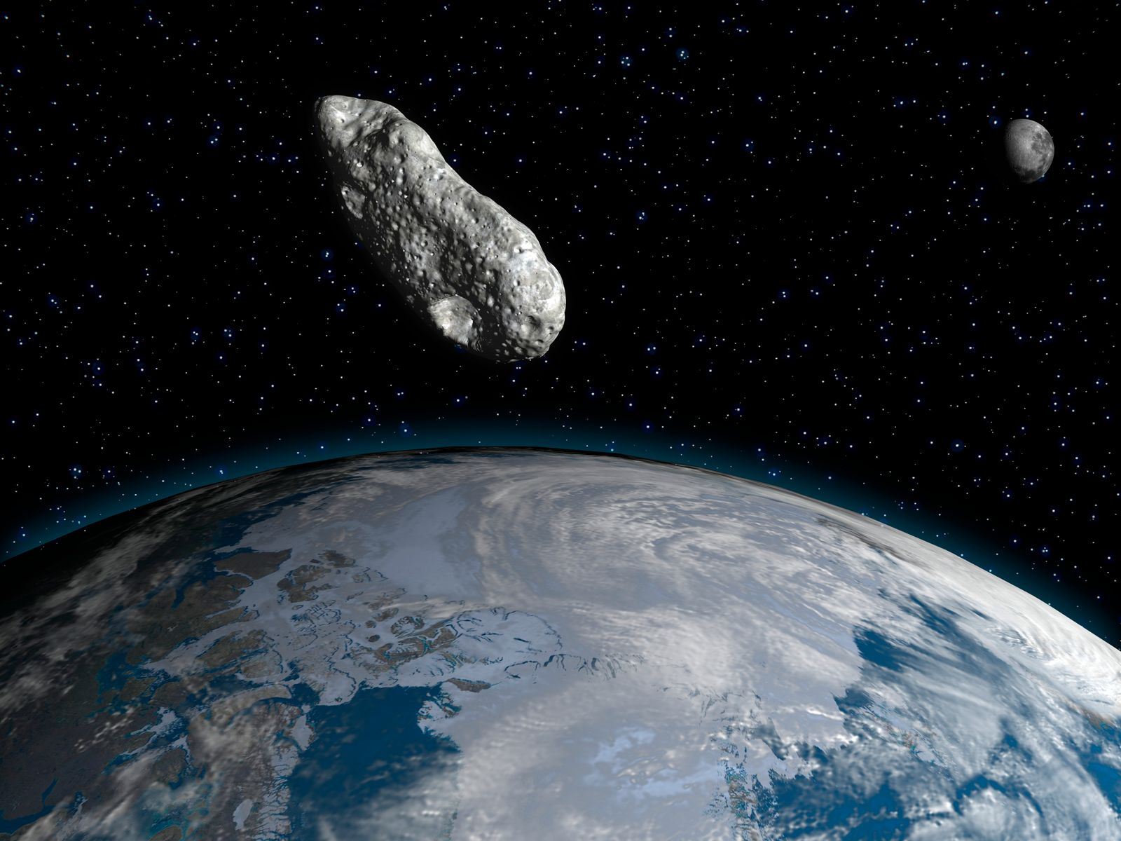 Asteroid, artwork