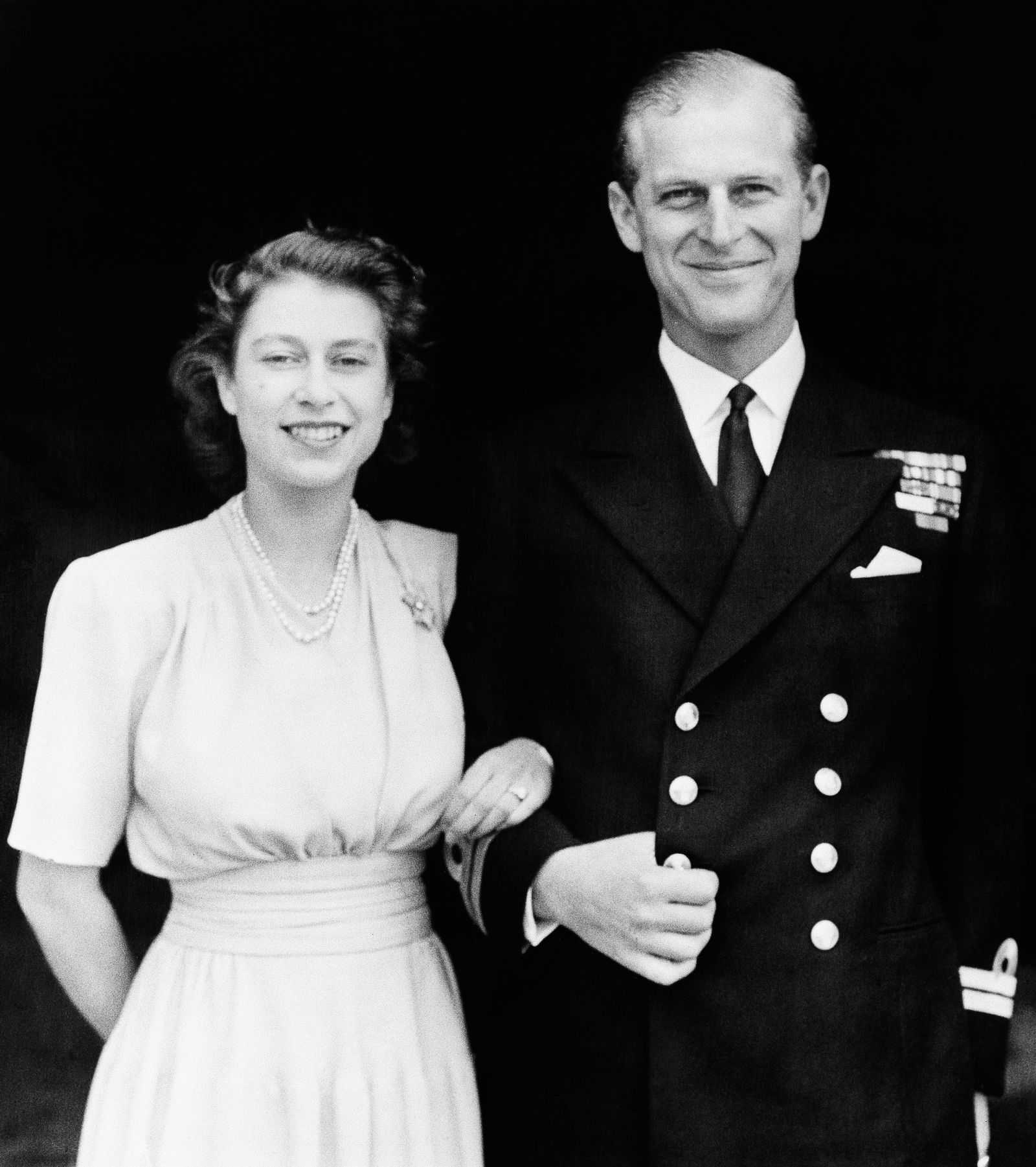 Princess Elizabeth and Philip Mountbatten