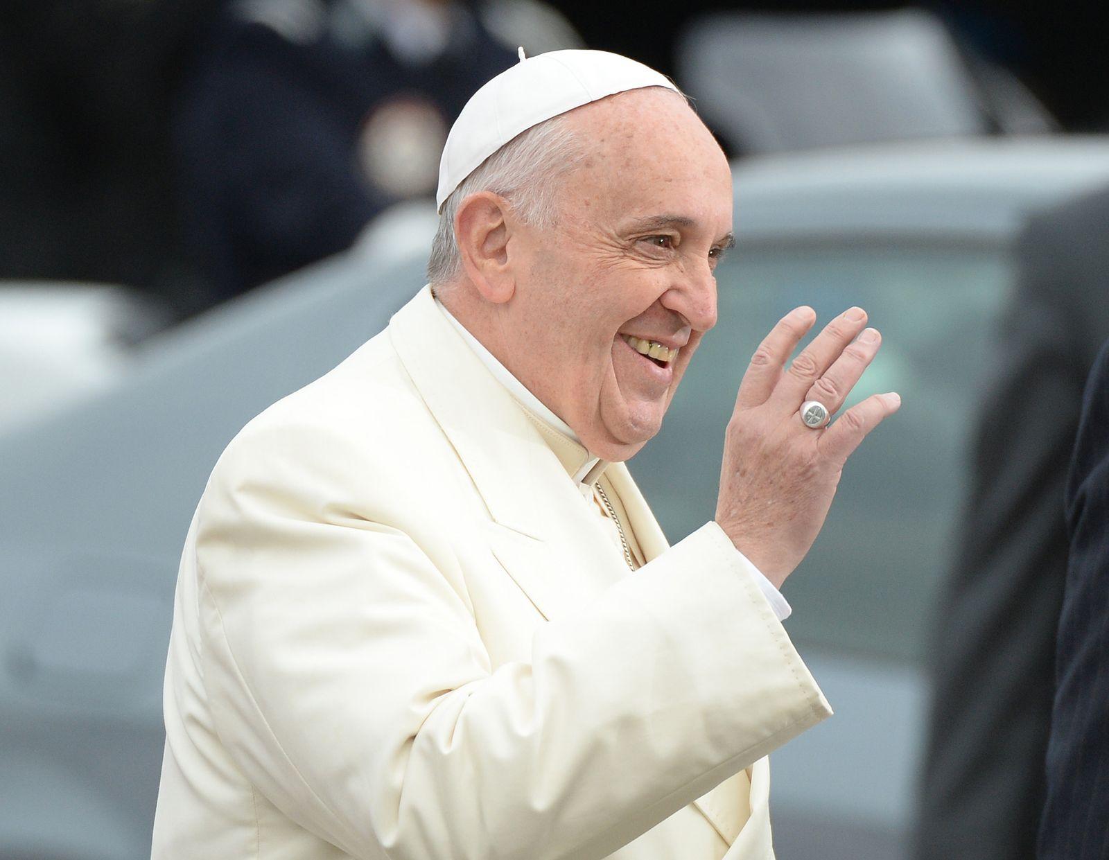 Papst Franziskus spricht vor Europaparlament