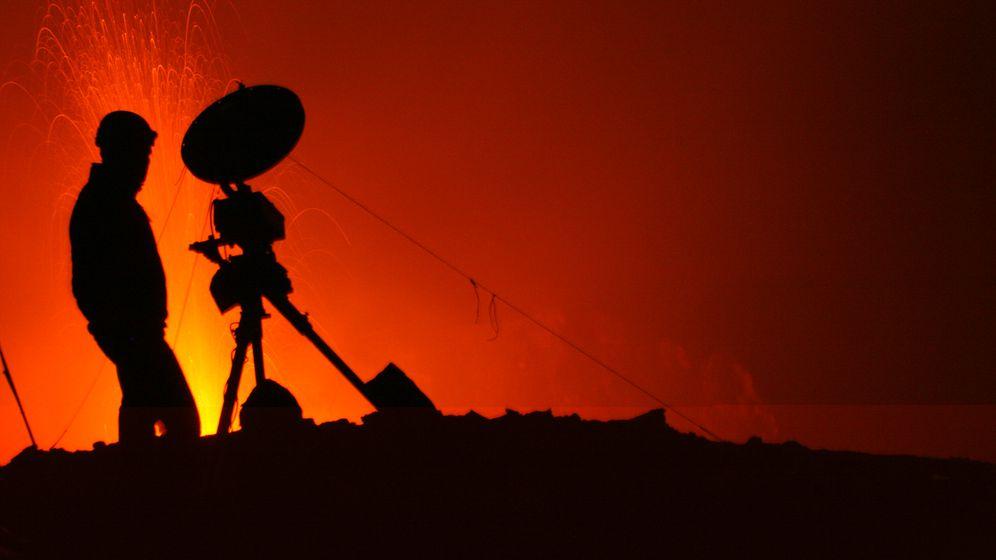 Frühwarnsysteme: Heißer Job am Stromboli