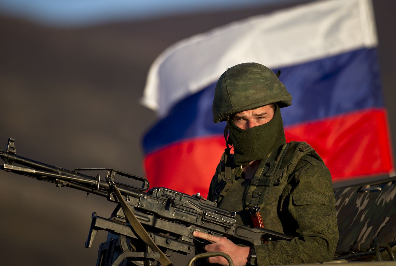 Russischer Soldat in Ukraine