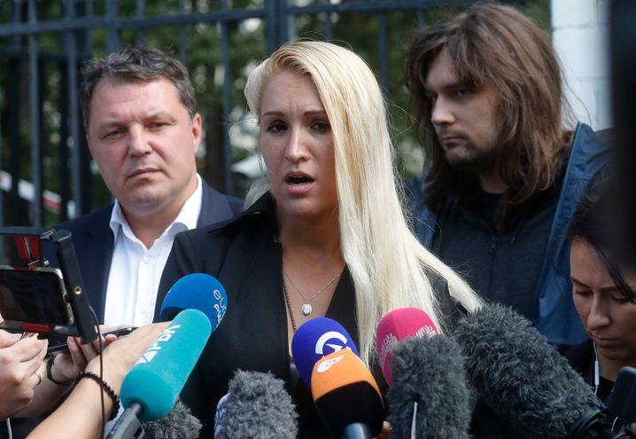 Anastasia Wassiljewa, Ärztin des Oppositionsführers Alexej Nawalny