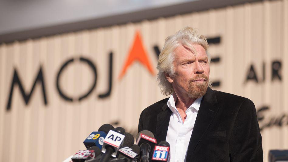 Virgin-Galactic-Chef Richard Branson: Den Traum weiter vorantreiben