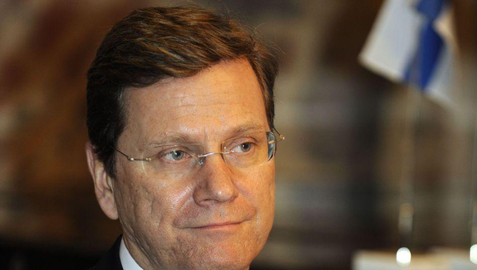 """Außenminister Guido Westerwelle: """"Wir brauchen eine Gesamtstrategie"""""""