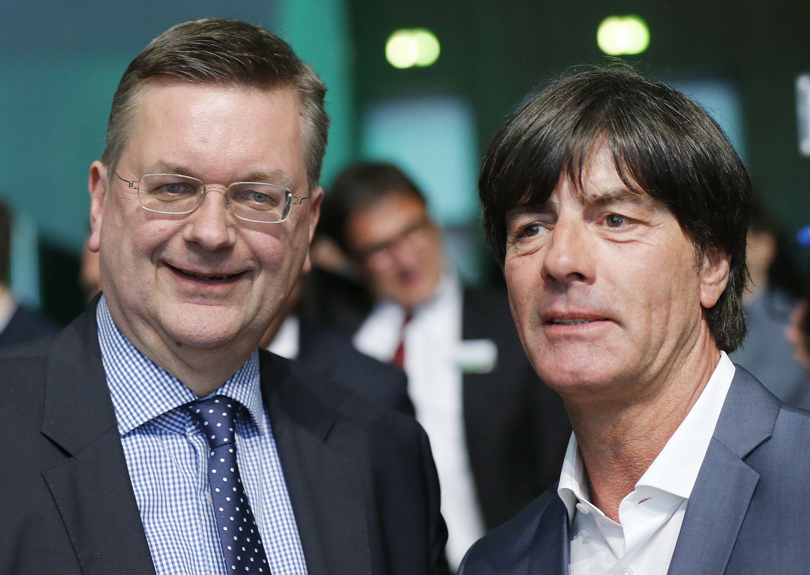 Reinhard Grindel/ Joachim Löw