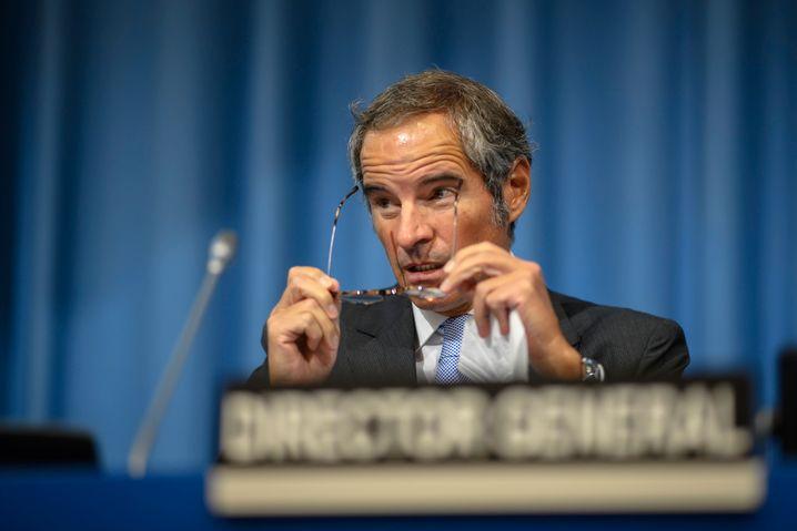 Rafael Grossi, Chef der Internationalen Atomenergiebehörde (IAEA)
