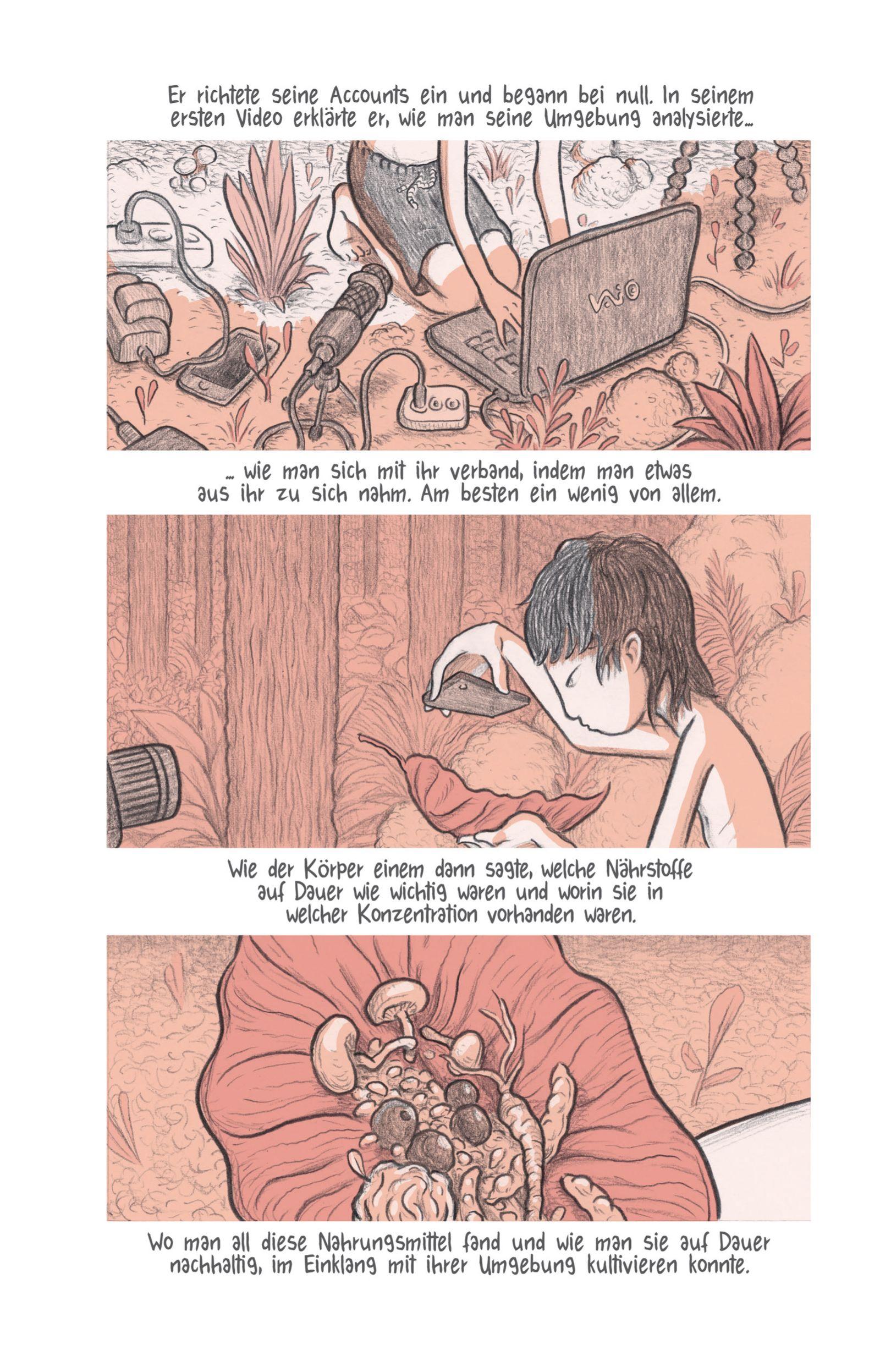 Comics/ Lukas Jüliger: Unfollow