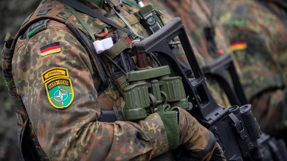 Einsatz an der Ostgrenze der Nato: Seit 2017 ist die Bundeswehr in Litauen stationiert