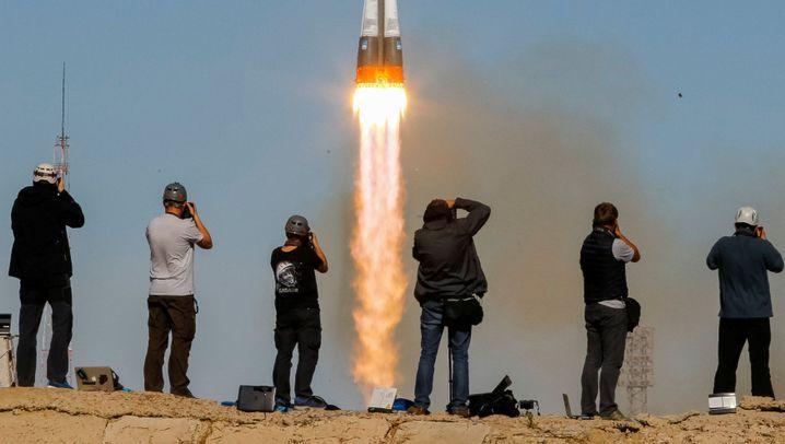"Panne bei ""Sojus""-Start: Raumfahrer mussten notlanden"