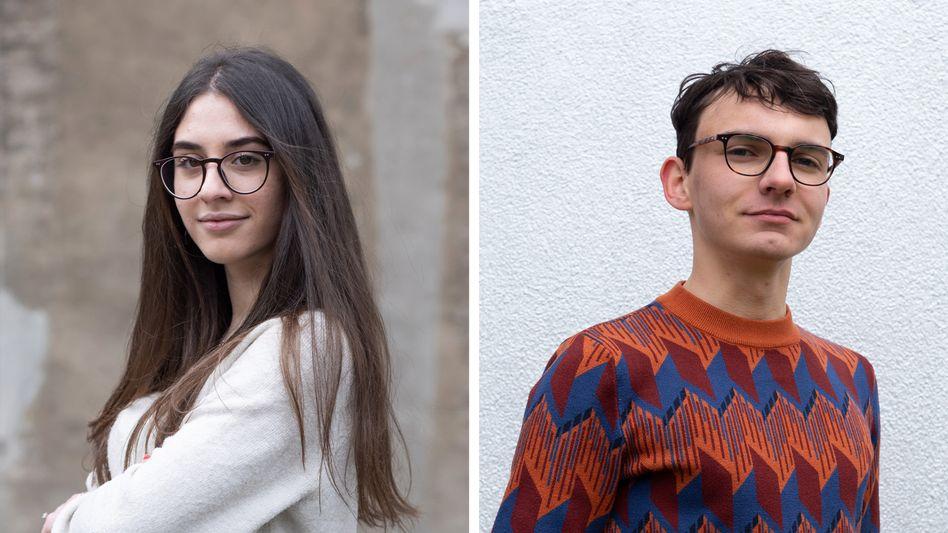 Sarah Kadiu macht in Bremen Abitur, Marius Wittwer in Leipzig