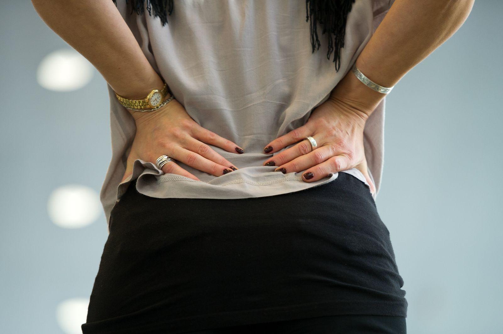 Rückenschmerzen / Krankenkasse