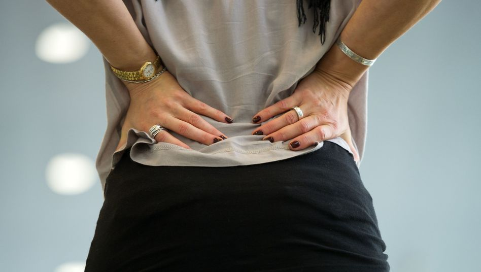 Volksleiden: 85 Prozent der Bevölkerung haben im Laufe ihres Lebens mindestens einmal Rückenschmerzen