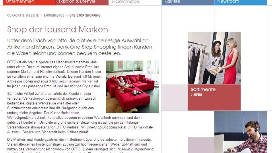 Otto-Onlineshop: Kurzfristig Liebling der Online-Einkäufer
