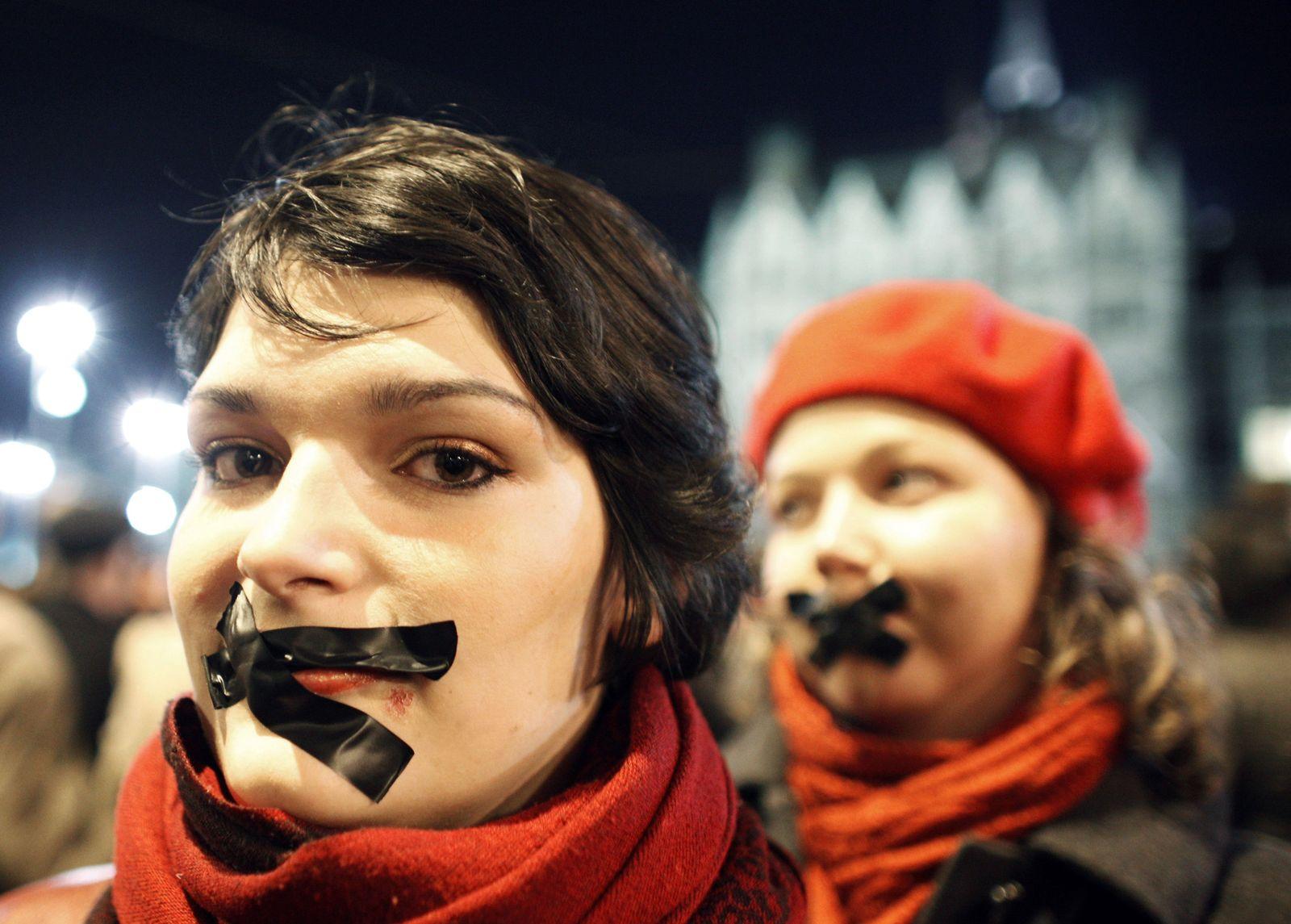Ungarn/ Mediengesetz/ Proteste