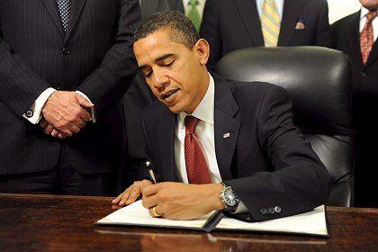 President Barack Obama orders the closure of Guantanamo.