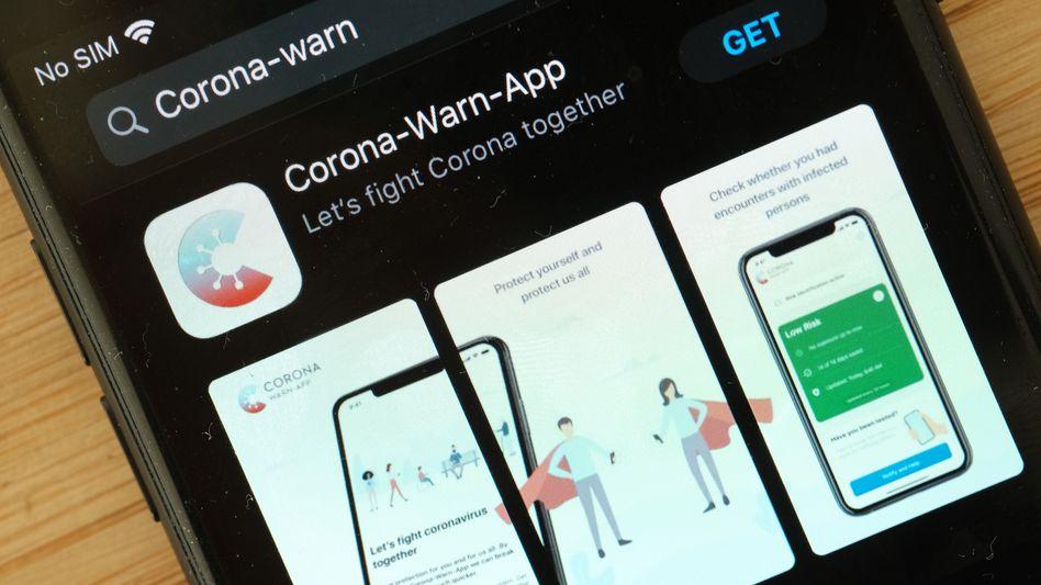 Kosten im fünfstelligen Bereich: Die Nutzung der Warn-App ist für Labore teuer