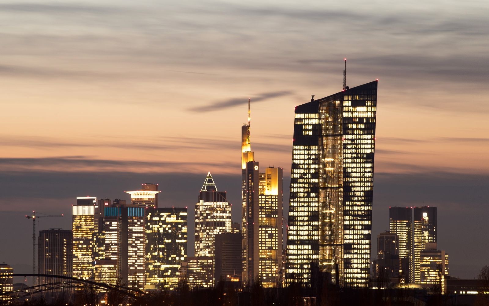 EZB / Frankfurt Skyline