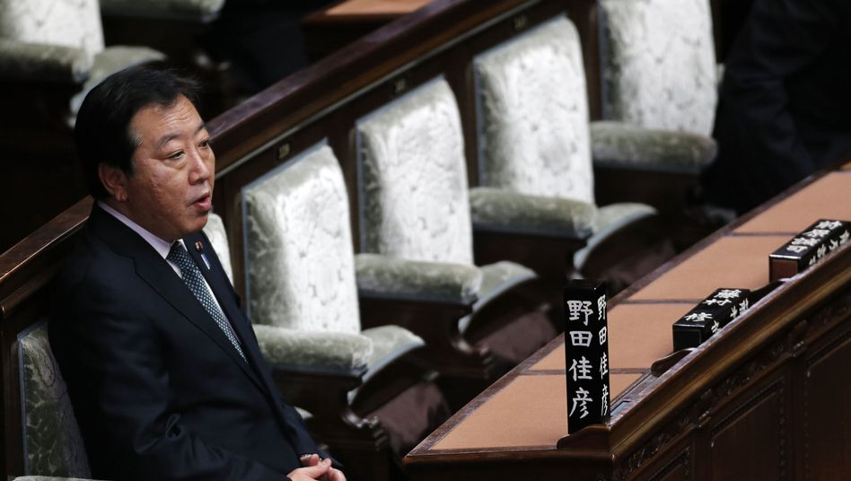 Japans Ministerpräsident Noda: Bei der Neuwahl droht ihm der Machtverlust