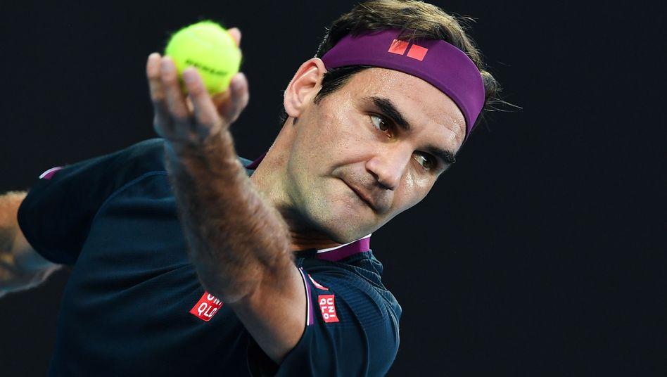 """Roger Federer kann zwar im Moment nicht Tennis spielen, dafür ist er bei """"Forbes"""" auf Platz eins"""
