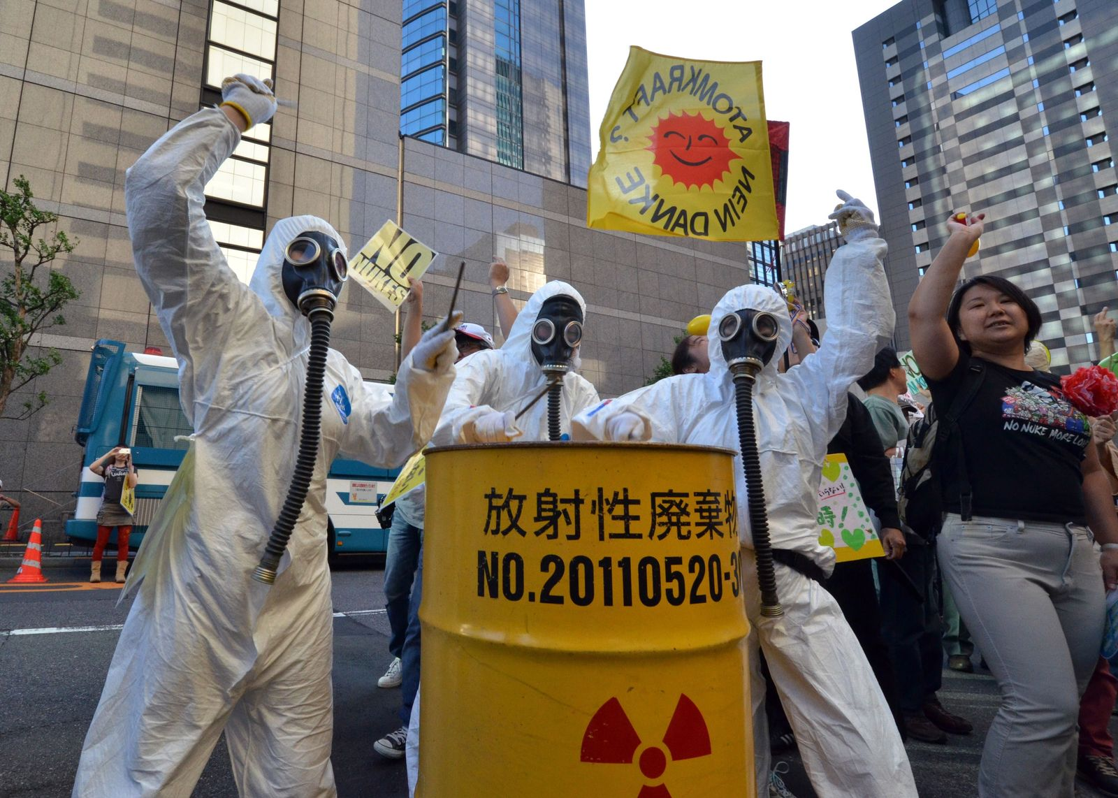 Tepco / Anti-Atom-Proteste