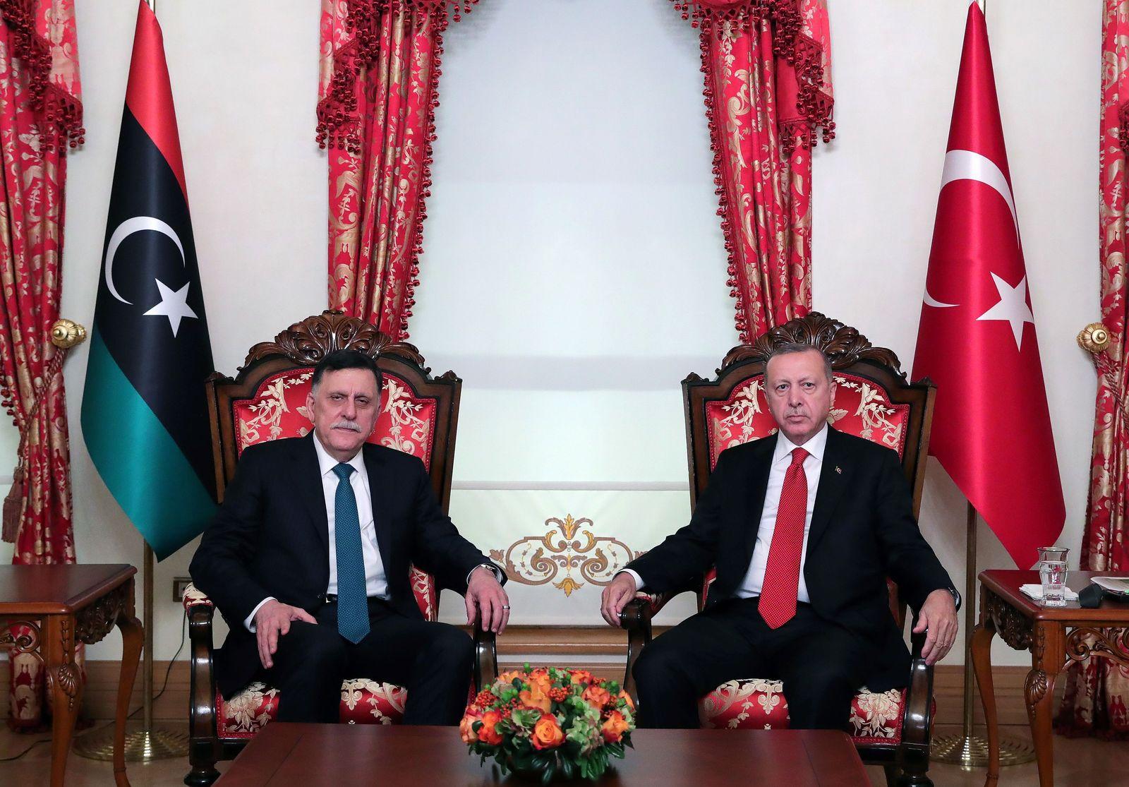 Libyen Erdogan