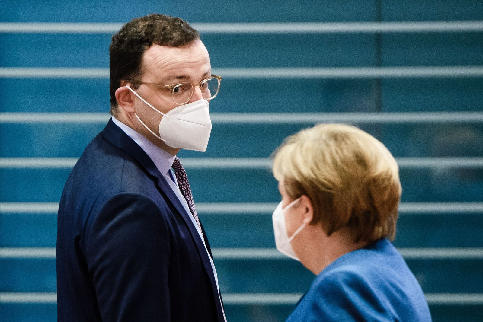 Cabinet meeting at the Chancellery in Berlin, Germany - 06 Jan 2021