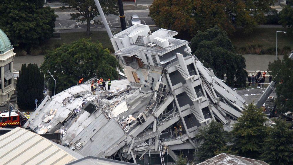 Neuseeland: Hochzeit zwischen Trümmern