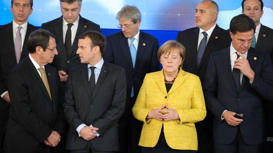 Flüchtlingsdebatte statt Euro-Reform: Wie die EU Macron zappeln lässt