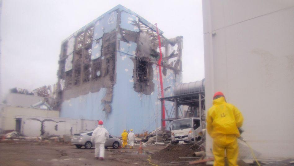Havarierter Reaktor in Fukushima im März 2011: Die Angst vor dem nächsten Beben