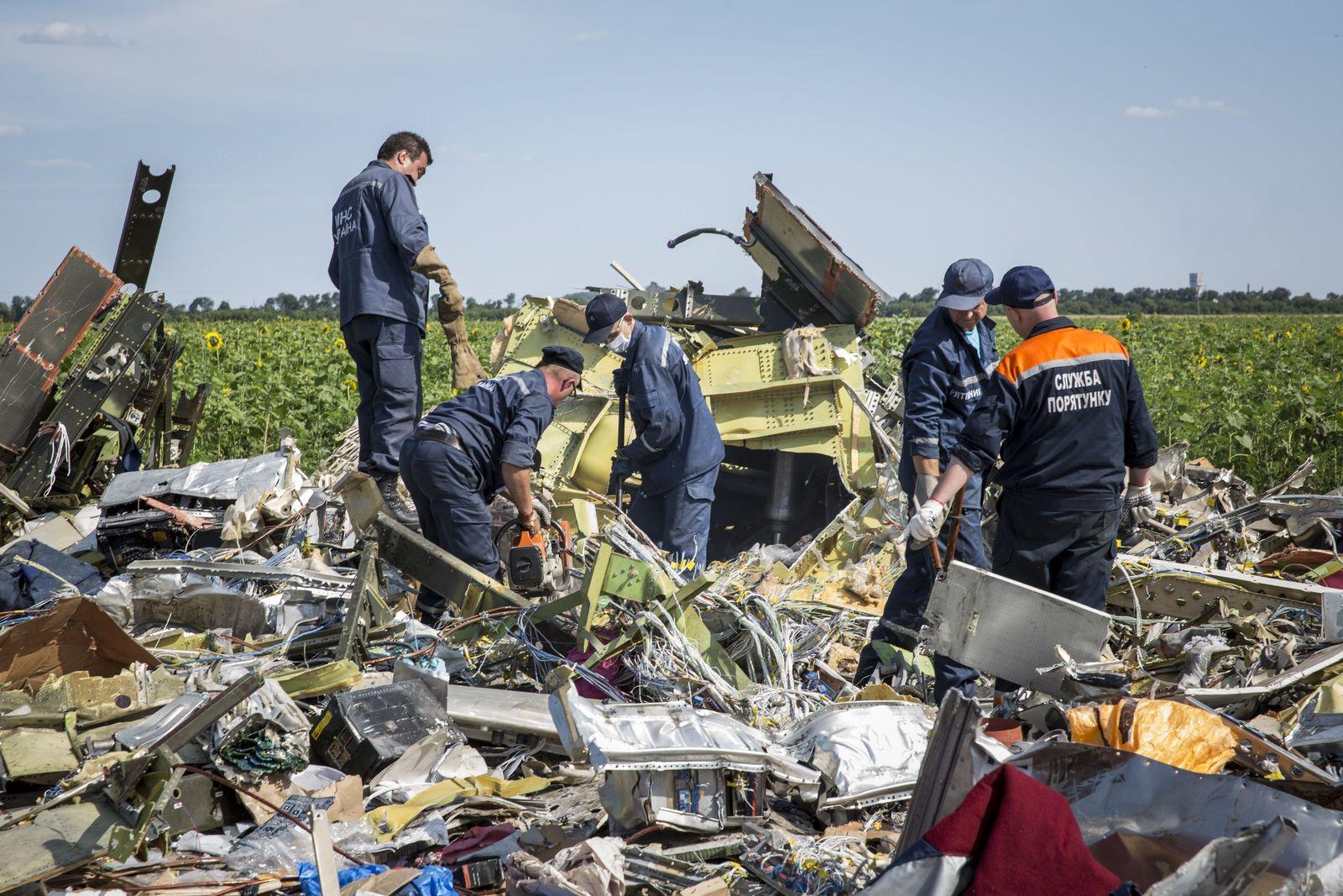 MH17-Absturz Ukraine