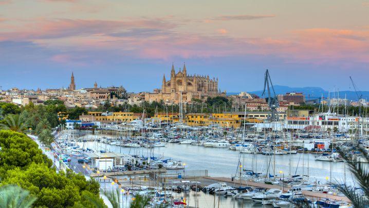Palma de Mallorca: Auf dem Dach der Kathedrale