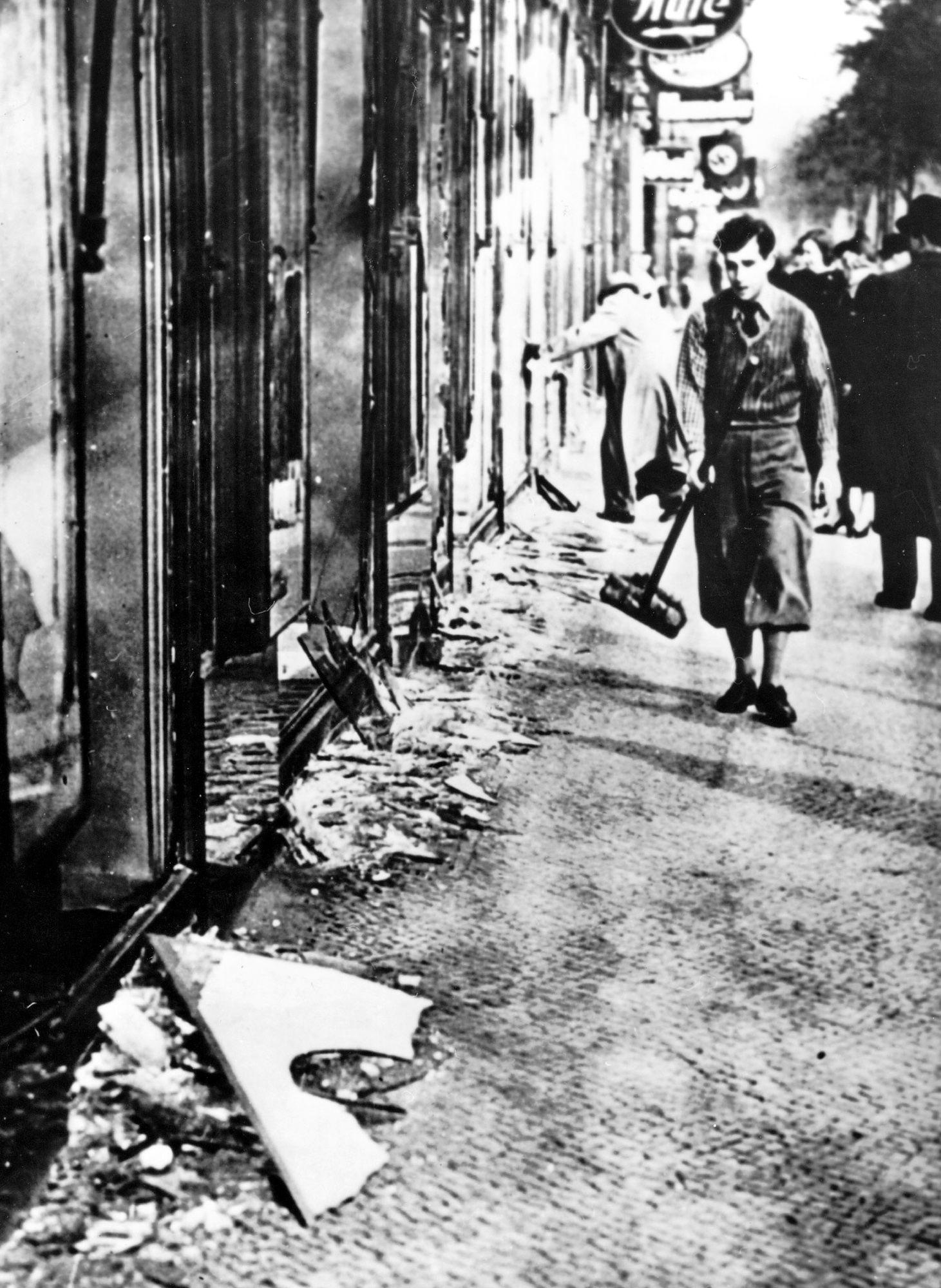 Reichspogromnacht/ Reichskristallnacht