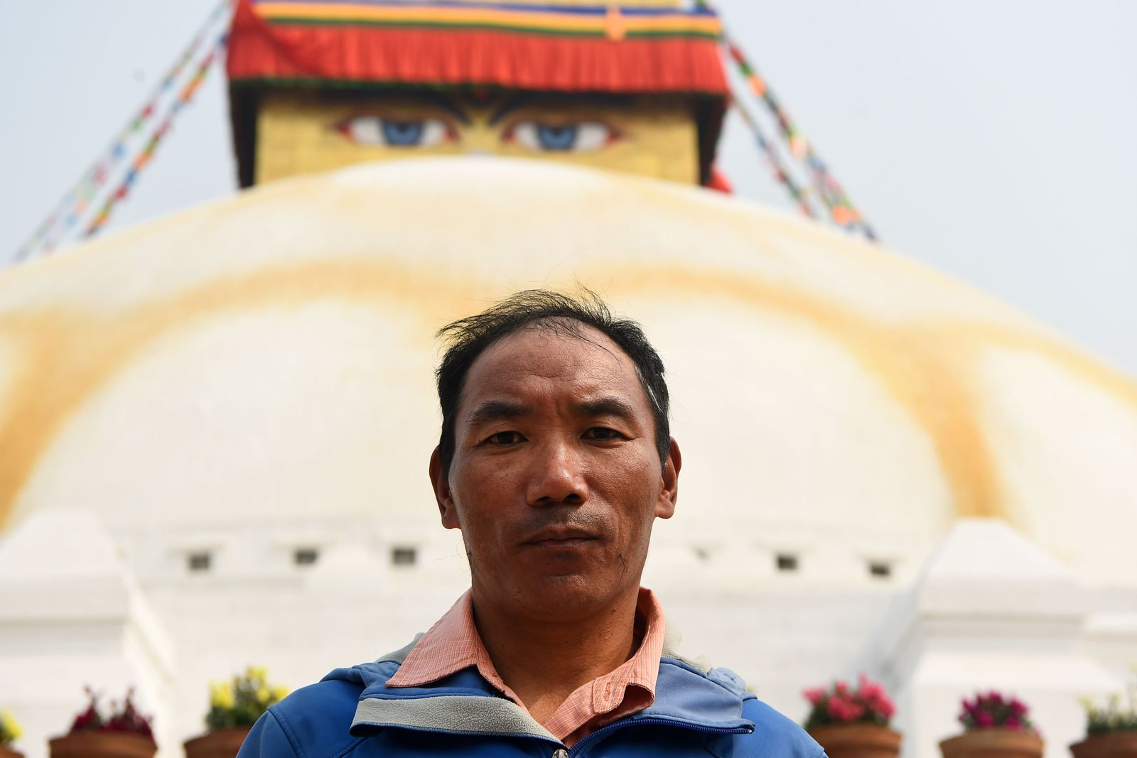 NEPAL-EVEREST-MOUNTAMount Everest/ Sherpa Kami RitaINEERING-SHERPA-RECORD
