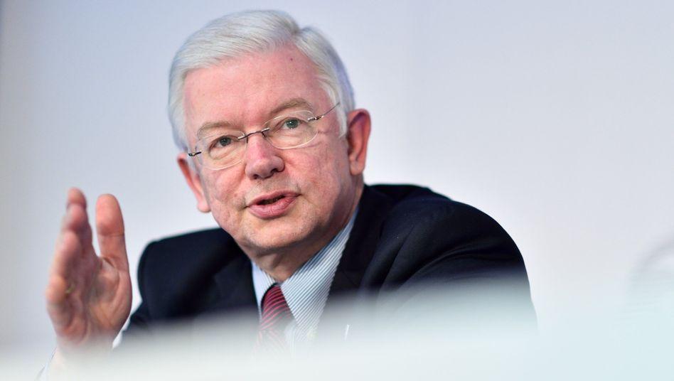 """Der frühere hessische Ministerpräsident Roland Koch (CDU) (Aufnahme von 2014): """"Unanständiges Verhalten kein Ausdruck von Modernität"""""""