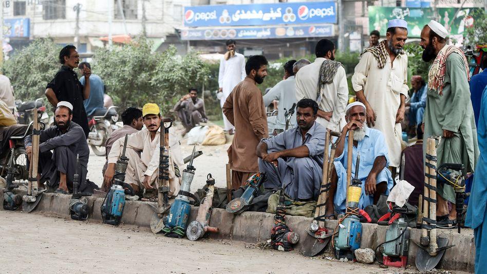 """Tagelöhner in Karachi, Pakistan: """"Die wenigsten planen, dauerhaft in ihrer Heimat zu bleiben"""""""