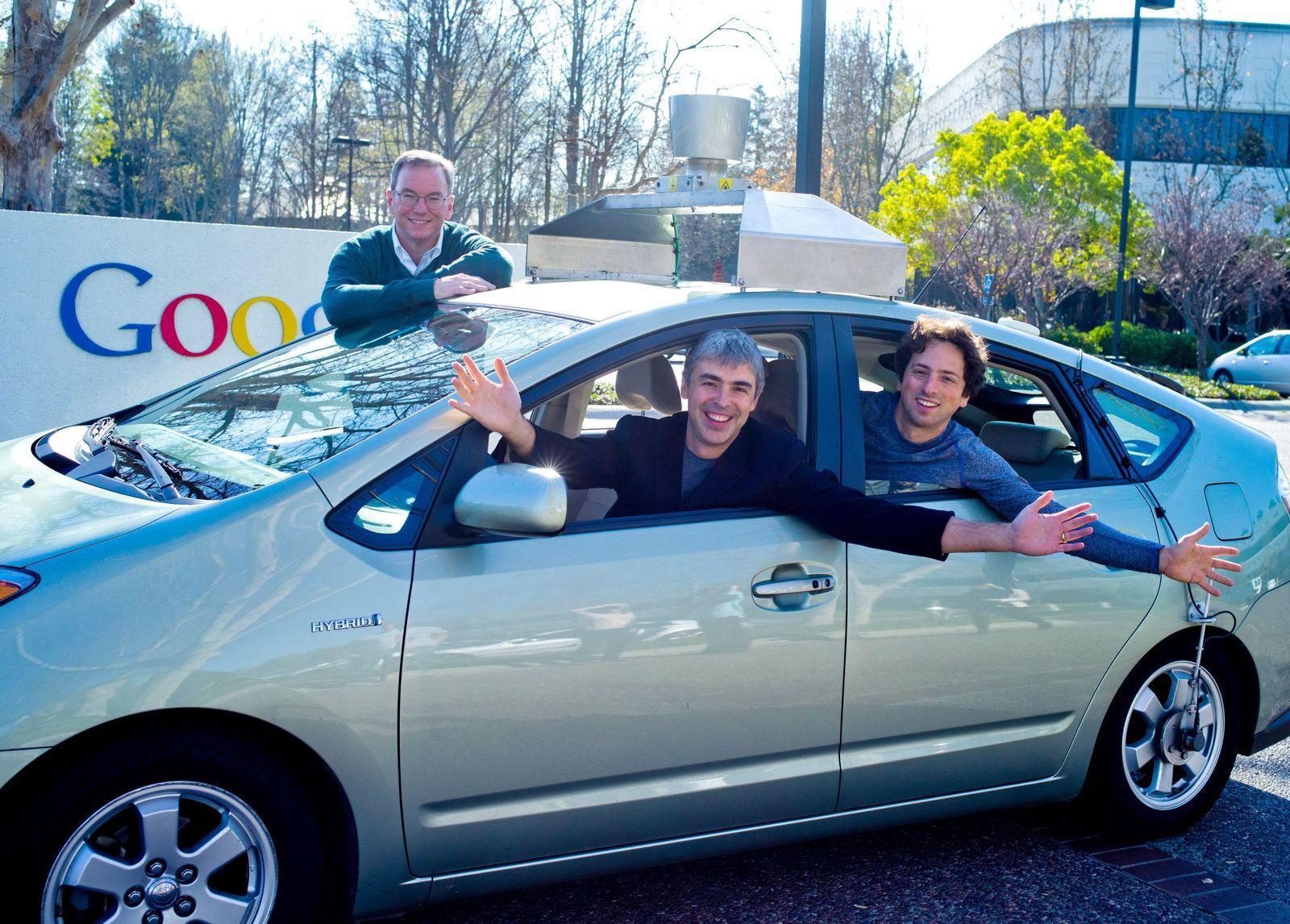 Google / Eric Schmidt / Larry Page / Sergey Brin