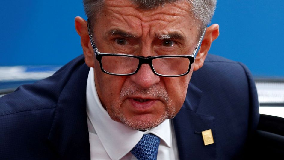 Tschechiens Ministerpräsident Andrej Babis: Rückforderungen in Millionenhöhe