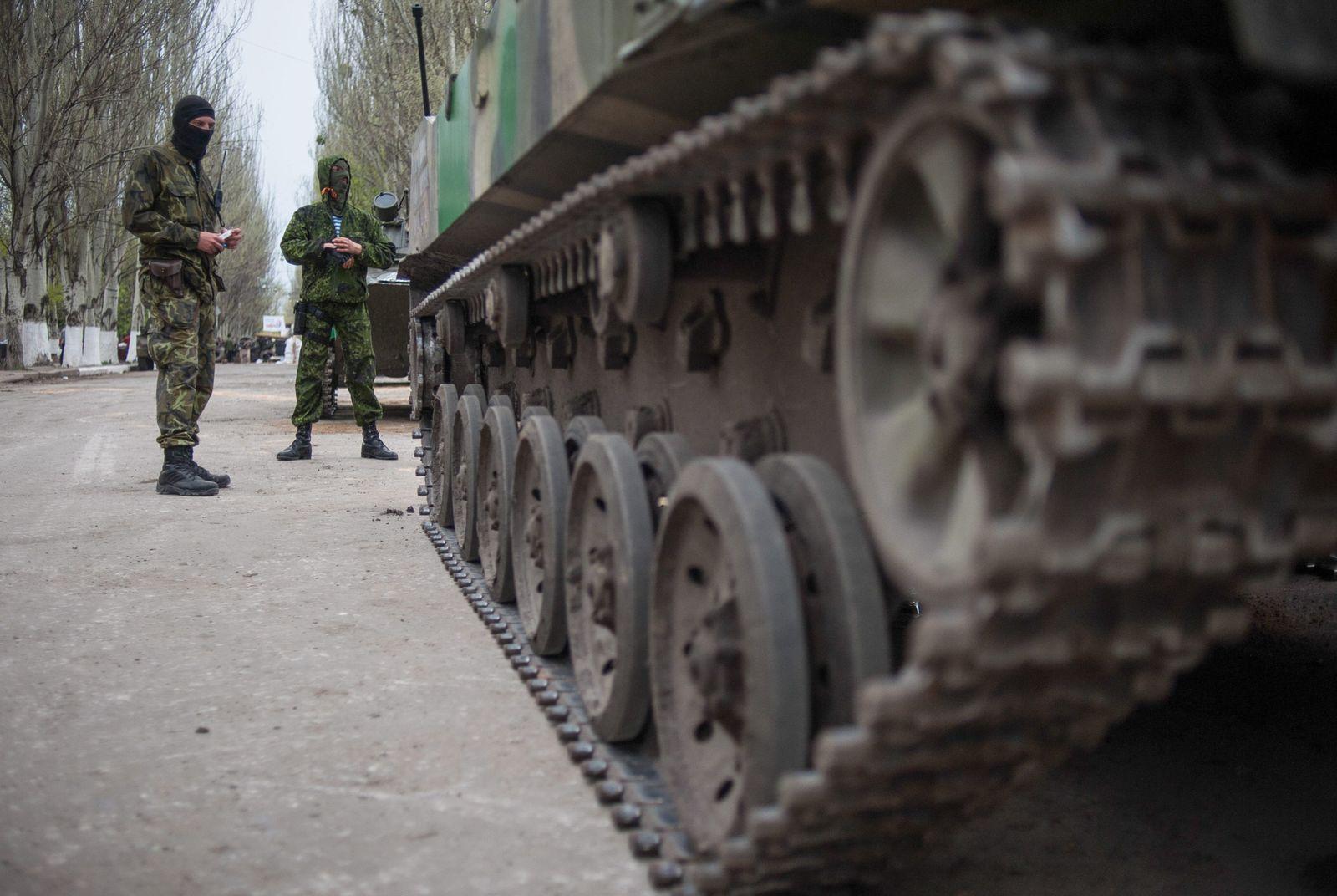 Crisis in Ukraine Slowjansk